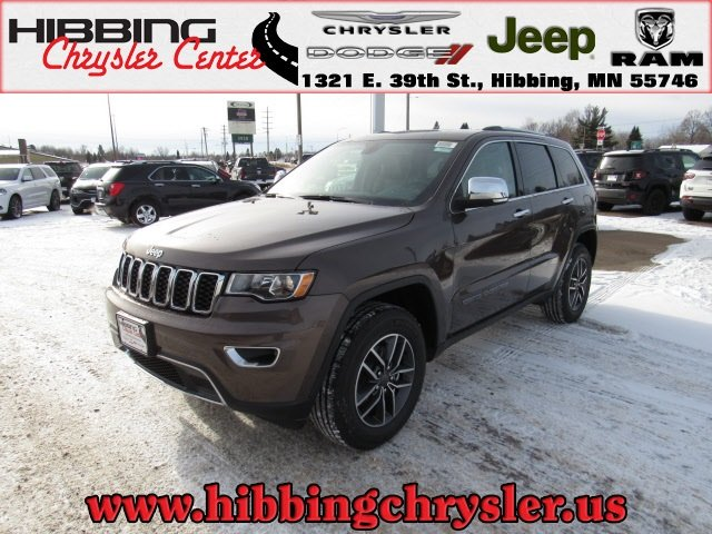 new 2019 jeep grand cherokee limited sport utility in hibbing 14520 hibbing chrysler center. Black Bedroom Furniture Sets. Home Design Ideas