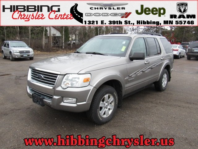 Ford Of Hibbing >> Pre Owned 2008 Ford Explorer Xlt 4wd