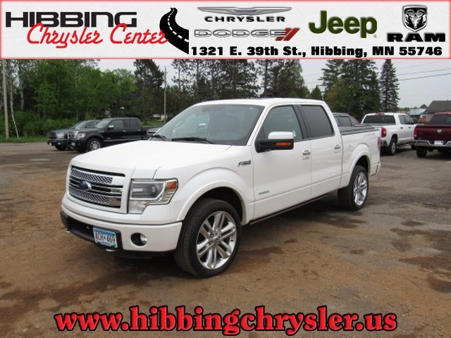 Ford Of Hibbing >> Pre Owned 2014 Ford F 150 Limited With Navigation 4wd