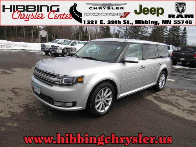 Pre Owned 2015 Ford Flex Limited Sport Utility In Hibbing 14158a