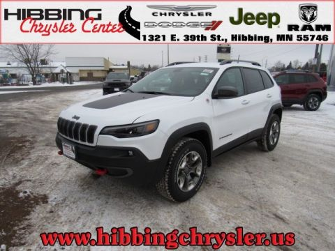 new 2019 jeep cherokee trailhawk sport utility in hibbing 14507 hibbing chrysler center. Black Bedroom Furniture Sets. Home Design Ideas
