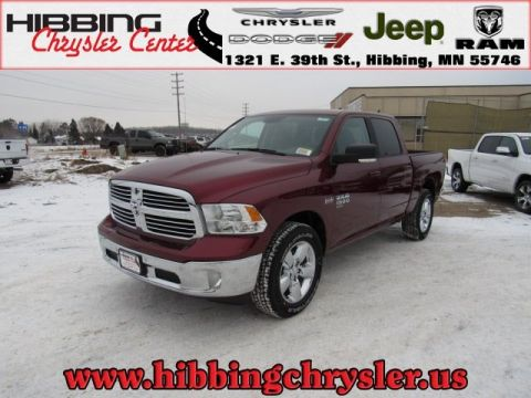 new 2019 ram 1500 classic big horn crew cab in hibbing 14545 hibbing chrysler center. Black Bedroom Furniture Sets. Home Design Ideas