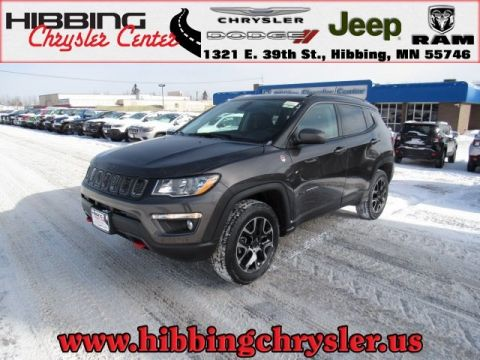 new 2019 jeep compass trailhawk sport utility in hibbing 14574 hibbing chrysler center. Black Bedroom Furniture Sets. Home Design Ideas