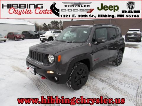 new 2018 jeep renegade trailhawk sport utility in hibbing 14370 hibbing chrysler center. Black Bedroom Furniture Sets. Home Design Ideas